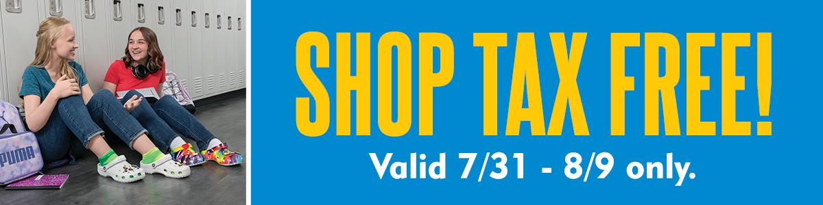Shop Tax Free!